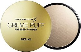 Pudră compactă (fără burete) - Max Factor Creme Puff Pressed Powder — Imagine N1