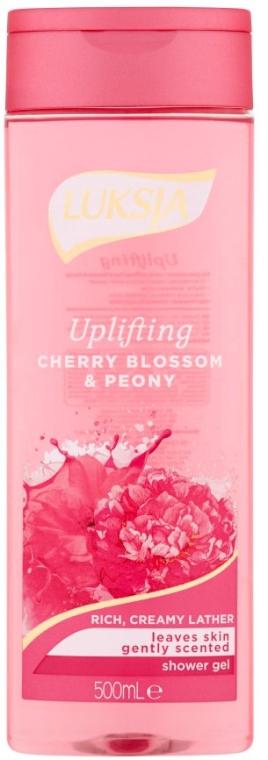 Gel de duș - Luksja Uplifting Cherry Blossom & Peony Shower Gel