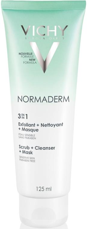 Tri-Activ curățare profundă 3in1 pentru față - Vichy Normaderm Tri-Activ Nettoyant