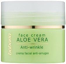 Parfumuri și produse cosmetice Cremă cu aloe vera pentru față - Babaria Aloe Facial Wrinkle Cream