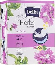 Parfumuri și produse cosmetice Absorbante Panty Herbs Verbena, 60 bucăți - Bella