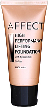 Parfumuri și produse cosmetice  Тональный крем-лифтинг - Affect Cosmetics High Performance Lifting Foundation SPF10