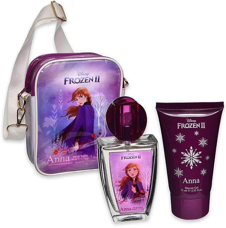 Disney Frozen II Anna - Set (edt/50ml + sh/gel/75ml + bag/1pcs)