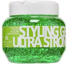 Parfumuri și produse cosmetice Gel cu fixare ultra-puternică de păr - Kallos Cosmetics