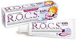 """Parfumuri și produse cosmetice Pastă de dinţi """"Bubble gum cu aromă de gumă de mestecat"""" - R.O.C.S. Kids Bubble Gum Toothpaste"""