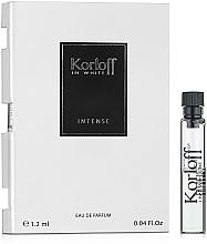 Parfumuri și produse cosmetice Korloff Paris In White Intense - Apă de parfum (mostră)
