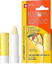 """Parfumuri și produse cosmetice Balsam de buze """"Mango"""" - Eveline Cosmetics Lip Therapy Proffesional Vaseline Lip Balm"""