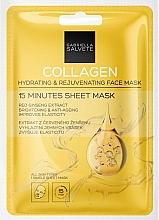 """Parfumuri și produse cosmetice Mască hidratantă anti-îmbătrânire pentru față """"Colagen"""" - Gabriella Salvete Collagen Hydrating & Rejuvenating 15 Minutes Sheet Mask"""