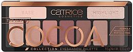 Parfumuri și produse cosmetice Paletă farduri de pleoape - Catrice The Matte Cocoa Collection Eyeshadow Palette