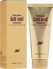 Parfumuri și produse cosmetice Cremă cu extract de mucus de melc - The Orchid Skin Premium Snail Cleansing Cream