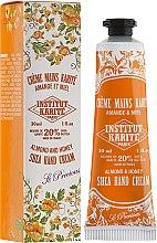 """Parfumuri și produse cosmetice Cremă de mâini """"Miere și migdale"""" - Institut Karite Almond And Honey Hand Cream"""