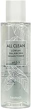 Parfumuri și produse cosmetice Toner hidratant pentru față - Heimish All Clean Low pH Balancing Vegan Toner