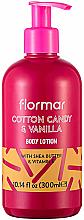Parfumuri și produse cosmetice Loțiune de corp - Flormar Cotton Candy & Vanilla Body Lotion