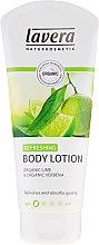 """Parfumuri și produse cosmetice Loțiune de corp """"Lime"""" - Lavera Refreshing Body Lotion Vartalovoide"""