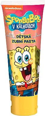 Pastă de dinți pentru copii - VitalCare Sponge Bob Toothpaste — Imagine N1