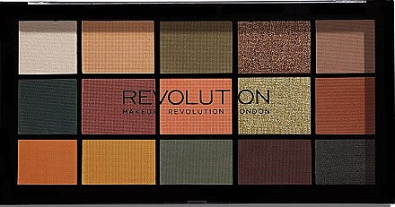 Paleta fard de ochi - Makeup Revolution Division Re-loaded Palette