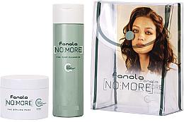 Parfumuri și produse cosmetice Set - Fanola No More Kit Travel Size (shm/100ml + mask/50ml + bag)