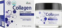 Parfumuri și produse cosmetice Cremă hidratantă cu colagen pentru zona din jurul ochilor - Ekel Collagen Eye Cream