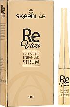 Духи, Парфюмерия, косметика Ser pentru gene - Skeenlab ReViva Eyelash Enhanced Serum