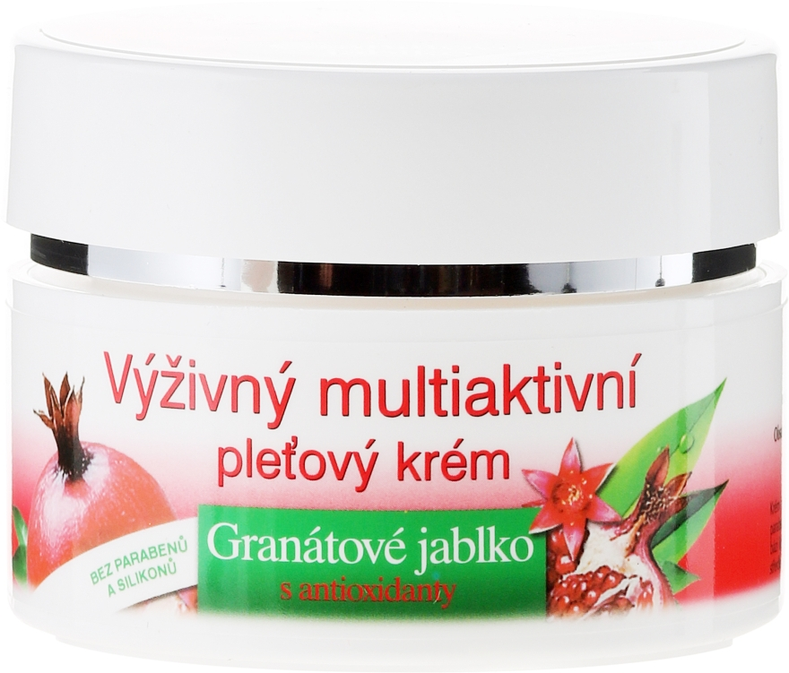 Cremă cu antioxidanți - Bione Cosmetics Pomegranate Nourishing Multi-Active Cream With Antioxidants — Imagine N2