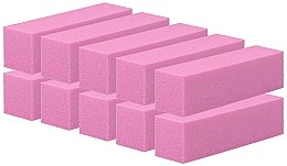 Parfumuri și produse cosmetice Buffere pentru unghii, roz, 10 buc. - Tools For Beauty