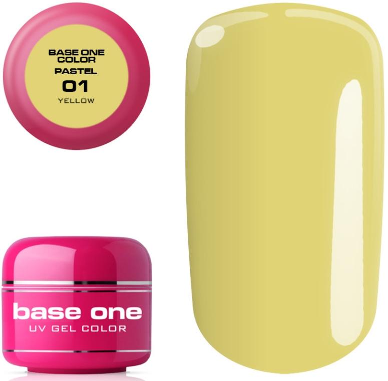 Gel pentru unghii - Silcare Base One Color Pastel — Imagine N2