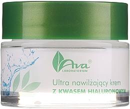 Parfumuri și produse cosmetice Cremă hidratantă cu acid hialuronic - AVA Laboratorium Ultra Moisturizing Hyaluronic Cream
