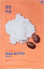 Parfumuri și produse cosmetice Mască de țesut nutritivă cu unt de Shea - Holika Holika Pure Essence Mask Sheet Shea Butter