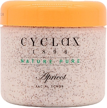 "Parfumuri și produse cosmetice Scrub de față ""Caise"" - Cyclax Nature Pure Apricot Facial Scrub"