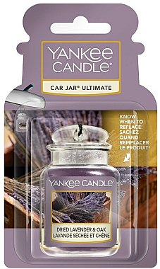 Aromatizator auto - Yankee Candle Car Jar Ultimate Dried Lavender & Oak