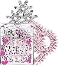 Parfumuri și produse cosmetice Set elastice pentru păr, 6 buc - Invisibobble Nano & Original Bee Mine
