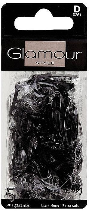 Elastice de păr, 0261, negre - Glamour