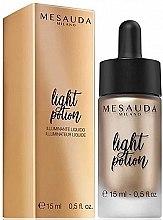 Parfumuri și produse cosmetice Iluminator - Light Potion Liquid Highlighter Mesauda