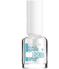 Parfumuri și produse cosmetice Fixator lac de unghii - Miss Sporty Nail Expert Turbo Dry Top Coat