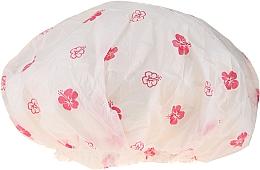 Духи, Парфюмерия, косметика Шапочка для душа, 9298, белые и розовые цветы - Donegal Shower Cap