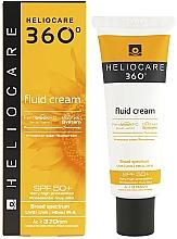Parfumuri și produse cosmetice Fluid cu protecție solară - Cantabria Labs Heliocare 360º Fluid Cream SPF 50+ Sunscreen
