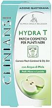 Parfumuri și produse cosmetice Patch-uri de curățare pentru față - Clinians Hydra T Pach C Punti Neri Clinians