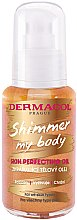 Parfumuri și produse cosmetice Ulei de corp - Dermacol Shimmer My Body Skin Perfecting Oil