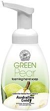 "Parfumuri și produse cosmetice Мыло-пенка для рук ""Зеленая груша"" - Australian Gold Foaming Hand Soap Green Pear"