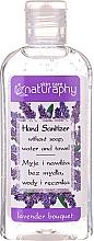 Parfumuri și produse cosmetice Gel cu alcool pentru mâini, aromă de lavandă - Bluxcosmetics Naturaphy Alcohol Hand Sanitizer With Lavender Fragrance (mini)