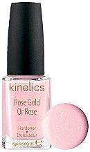 Parfumuri și produse cosmetice Întăritor de unghii - Kinetics Rose Gold Hardener
