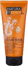 """Parfumuri și produse cosmetice Mască pentru părul slăbit și deteriorat """"Puterea vitaminei C"""" - Natura Estonica Power-C Plus Hair Mask"""