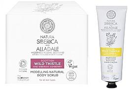 Parfumuri și produse cosmetice Set - Natura Siberica Alladale (b/scrub/370ml + h/cr/75ml)