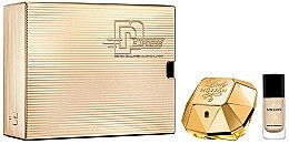 Parfumuri și produse cosmetice Paco Rabanne Lady Million - Set (edp/50ml + nail/p/9ml)