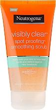 Parfumuri și produse cosmetice Scrub pentru față - Neutrogena Visibly Clear Spot Proofing Smoothing Scrub