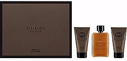 Parfumuri și produse cosmetice Gucci Guilty Absolute - Set (edp 50ml + a/s/b 50ml + s/g 50ml)