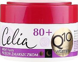"Parfumuri și produse cosmetice Cremă antirid ""Vitamina"" - Celia Q10 Face Cream 80+"