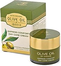 Cremă de față - BioFresh Olive Oil Of Greece Express Comfort Day Care Cream — Imagine N1