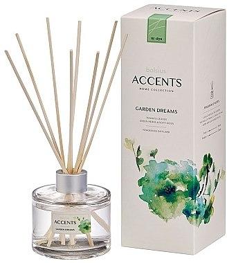 "Difuzor aromatic ""Frunze de tomate, ierburi și mușchi moale"" - Bolsius Fragrance Diffuser Garden Dreams"