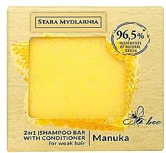 Духи, Парфюмерия, косметика Твердый шампунь-кондиционер - Stara Mydlarnia Manuka Honey 2in1 Shampoo Bar